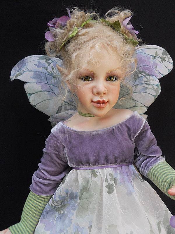 Lavender Funky Fairy Doll Krey Baby Doll 2012 Collection